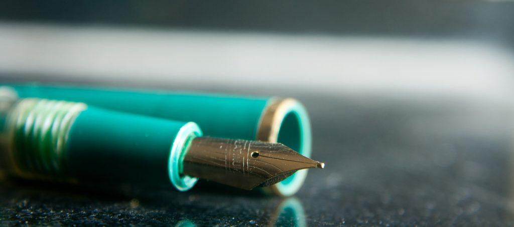 A fountain pen