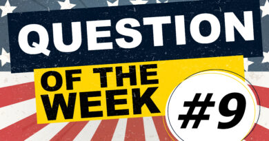 Question Of The Week - 9