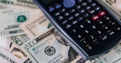 cash and calculator