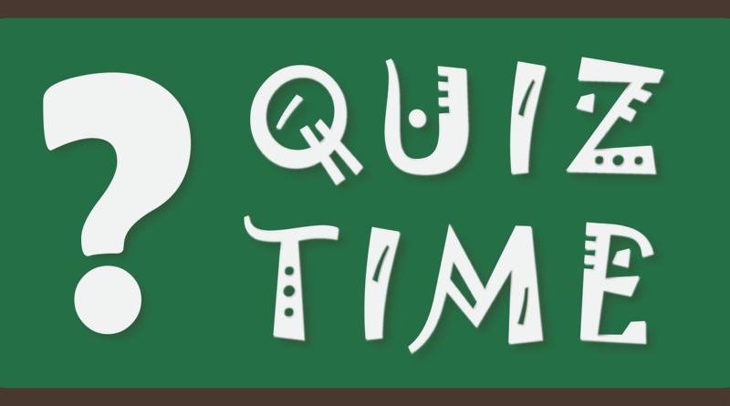 quiz time graphic