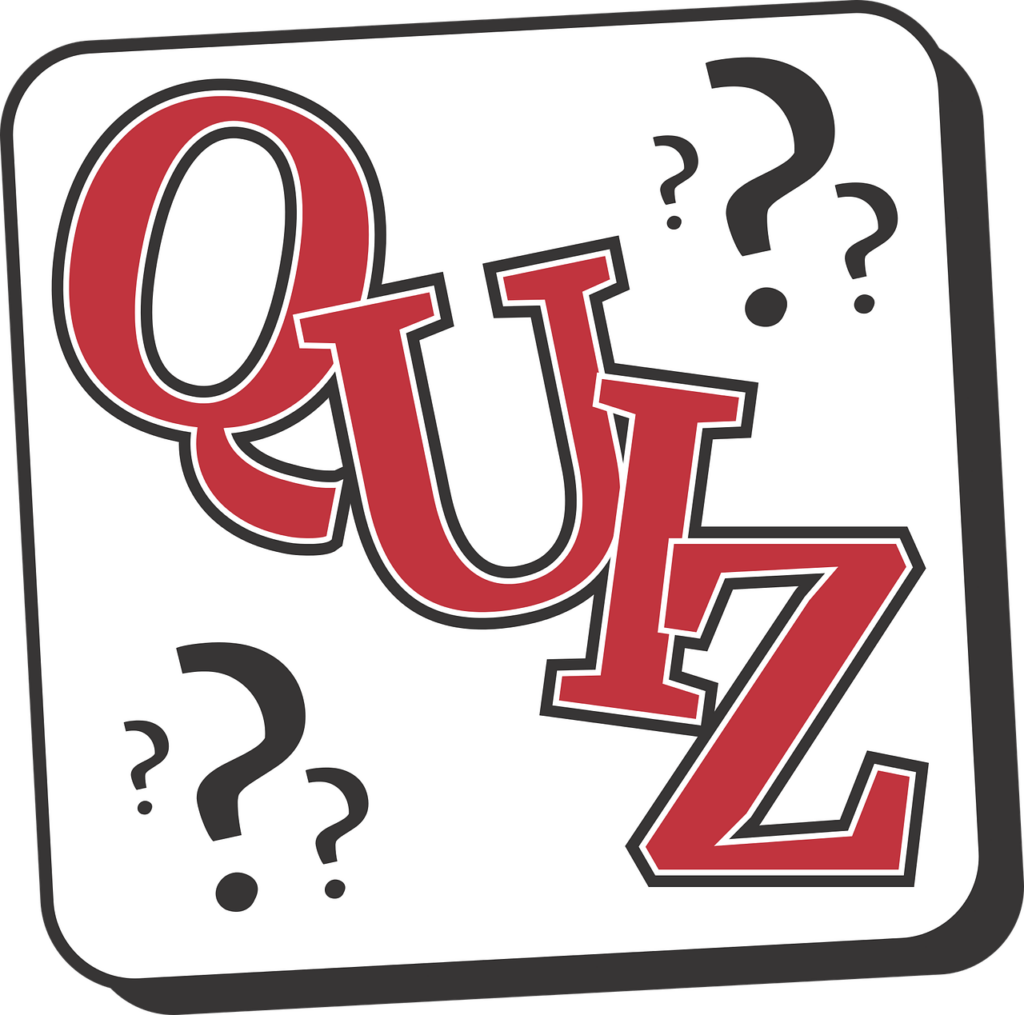 Quiz with Question Marks