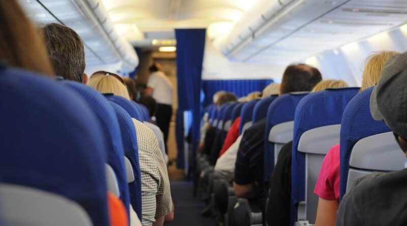 people sitting on airplane